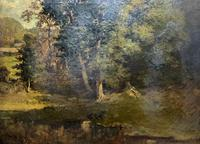 Antoine Chintreuil Fine 19th Century French Barbizon Landscape Oil Painting (5 of 13)
