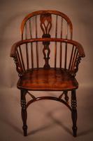 Ash & Elm Windsor Chair Stamped F Walker Rockley (2 of 10)