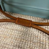 Elegant Edwardian Mahogany Antique Writing Table (3 of 7)
