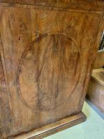 Large Burr Walnut Two Door Inlaid Cupboard (7 of 8)