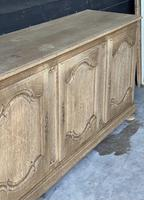 Large French Bleached Oak Enfilade or Sideboard (3 of 19)
