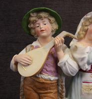 Antique Bisque Porcelain Figure Group (5 of 7)