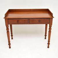 Antique Victorian Mahogany Writing  Table / Desk (4 of 9)