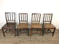 Harlequin Set of Four Welsh Farmhouse Chairs (2 of 16)