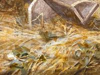 "Watercolour ""Tending The Sheep"" By Bertha Rhodes RA Rca Exh 1905 -1912 (31 of 41)"