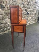 Antique Inlaid Satinwood Ladies Writing Desk (2 of 15)