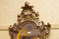 Italian Carved Giltwood Wall Mirrors with candle-holders (3 of 4)