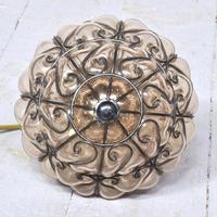 Set of 4 Murano-type Basket Light Fittings (9 of 10)