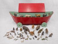 Vintage Wooden Noah's Ark Toy (2 of 8)