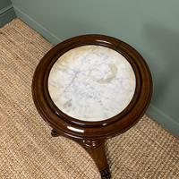High Quality Barley Twist Victorian Mahogany Antique Occasional Table (3 of 7)