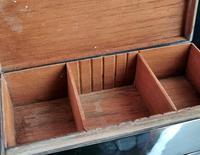 Antique Silver Cigarette Box, Heavy, Edwardian (10 of 13)
