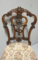 Set of  Victorian Walnut Dining Chairs (4 of 8)