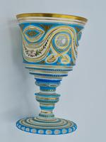 Very Important Antique Baccarat Overlay Glass (2 of 10)