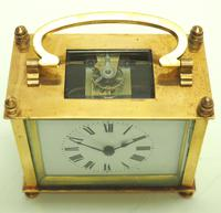 Fine Antique French 8-day Rectangle Carriage Clock Mantel Timepiece c.1890 (3 of 10)