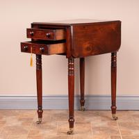 19th Century Mahogany Pembroke Work Table (8 of 13)