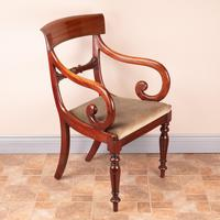 Set of Eight 19th Century Mahogany Dining Chairs (17 of 26)