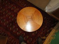 Walnut Art Deco Wine Table (2 of 6)