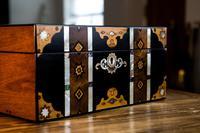 Stunning Inlaid Victorian Jewellery Box (5 of 14)