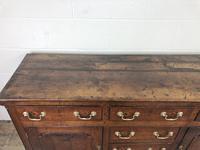 George III Oak Dresser Base (9 of 23)