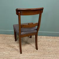 Superb Quality William IV Set of Six Mahogany Antique Dining Chairs (7 of 9)