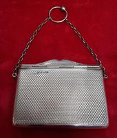 Antique Sterling Silver Hinged Lidded Purse / Card Case (2 of 4)