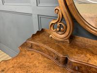 Victorian Period Burr Walnut Duchess Dressing Table (8 of 18)