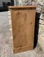 Antique Victorian Stripped Pine Chest of Drawers (5 of 15)