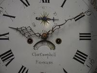 George III Inlaid Mahogany Longcase Clock by Charles Campbell, Boness (5 of 10)