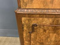 Burr Walnut Cocktail Cabinet (8 of 15)