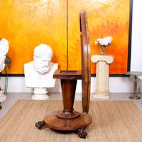 William IV Rosewood Breakfast Table Tilt Top Dining Console (8 of 11)