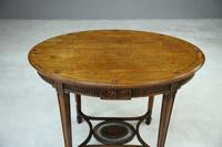 Antique Oval Centre Table (9 of 9)