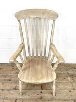 Set of Four Slat Back Antique Kitchen Chairs (8 of 10)