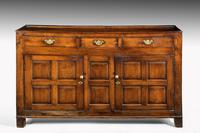 Late 18th Century Oak Dresser Base with Three Drawers to the Top (2 of 4)
