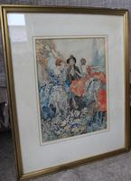Vintage Original Watercolour - poss. Book Illustration - Yvonne Hind (2 of 8)