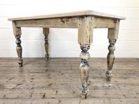 Vintage Pine Farmhouse Kitchen Table (3 of 9)