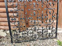 Large Iron Garden Gate (5 of 7)