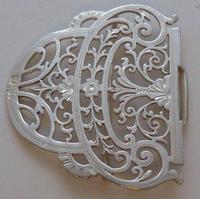 Sheffield 1899 Hallmarked Solid Silver Nurses Belt Buckle Joseph Rodgers & Sons (3 of 8)