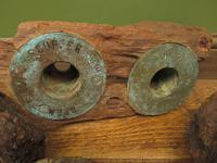 Antique Maritime Ship Deadeye Rigging Blocks & Scupper Ports, Old Wreck Salvage (6 of 13)