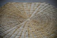 Large Natural Wicker Coffee Table (11 of 12)