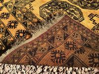 1960's Hand Woven Afgan Bokara Rug (5 of 7)