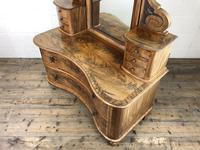 Antique 19th Century Concave Mahogany Dressing Table (3 of 21)