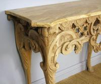 Early 19th Century Italian Console Table Sienna Marble Top (7 of 9)