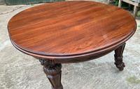 Impressive Victorian Mahogany Extending Dining Table - Seats 12 (14 of 23)