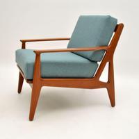 1960's Danish Teak Armchair by Arne Vodder (8 of 11)