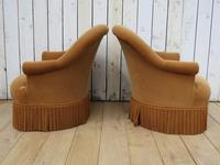 Pair Of French Crapaud Tub Armchairs (7 of 8)