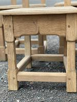 Set 8 Oak Farmhouse Dining Chairs (12 of 14)
