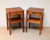 Pair of Yew Tables (7 of 10)