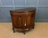 Mahogany Chippendale Style Demi Lune Commode (8 of 12)