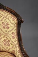 Victorian Rosewood Ladies & Gents Armchairs (20 of 22)