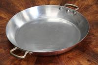 19th Century French Copper Prospector Pan
